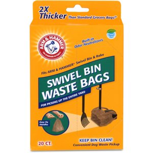 Arm & Hammer Swivel Bin Waste Bags - 20 CT