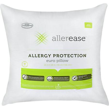 Euro Pillow Top King (AllerEase Cotton Euro Pillow with Allergy)
