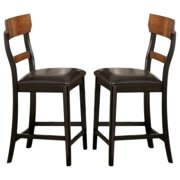 A Line Furniture Freesia Two-tone Counter Stools (Set of 2)