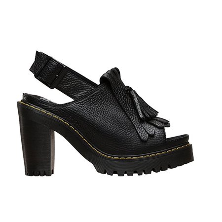 Doc Martens Women's Seraphina Sandal Black Leather