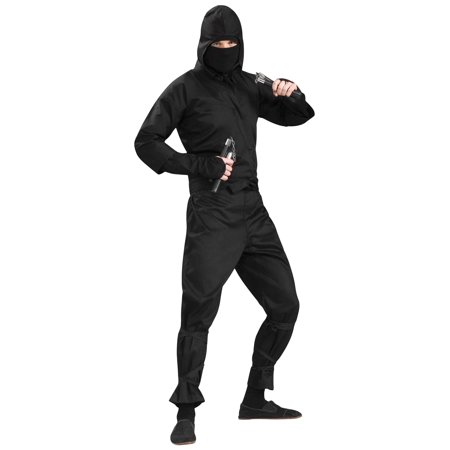 mens deluxe ninja halloween costume