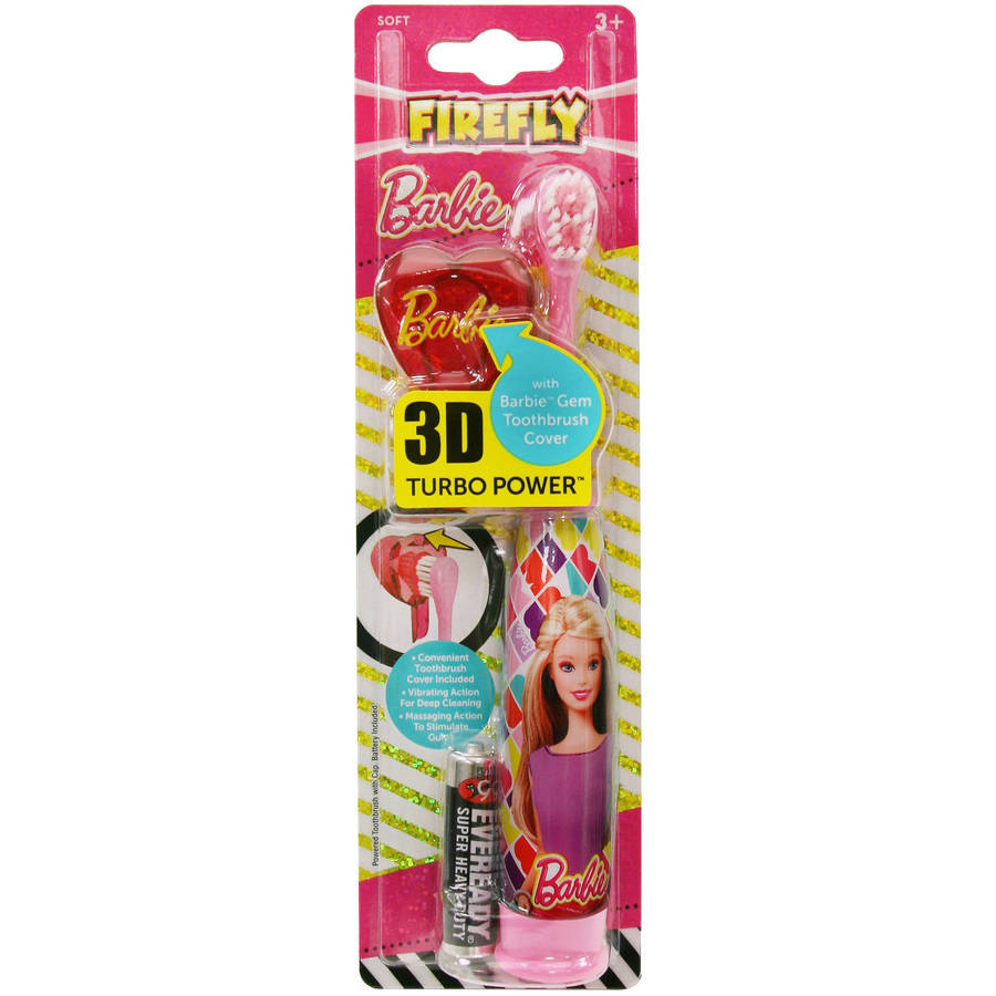 Firefly Barbie Turbo Power Soft Toothbrush