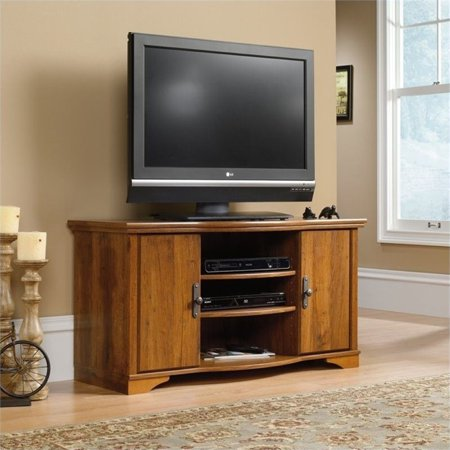Pemberly Row TV Stand in Abbey Oak