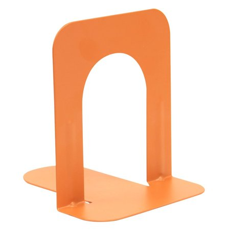 Steel Bookends - Plain base-Sunshine Orange- 5