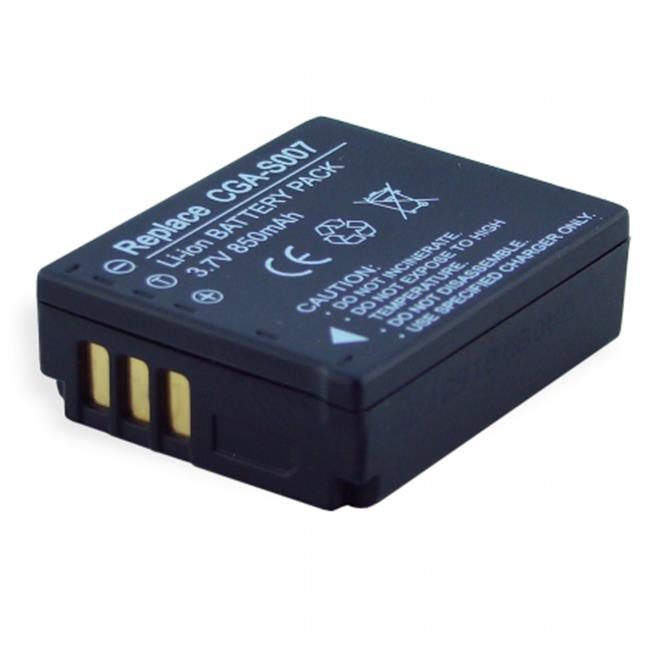 DENAQ DQ-R0837A DENAQ 600mAh Li-Ion Camera-Camcorder Battery for SAMSUNG