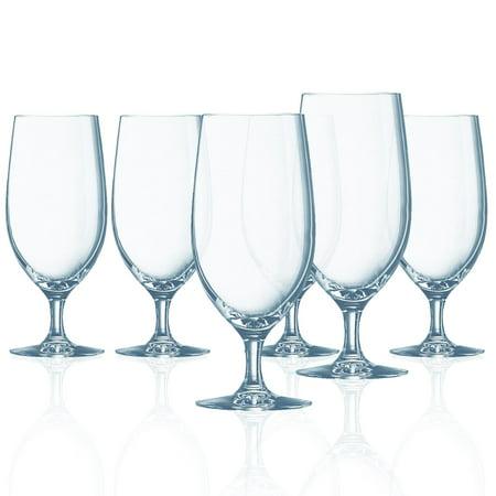 Chef & Sommelier Grand Vin Stemmed All Purpose Beverage Glass, 16.5 ounce, Set of 6 - 16.5 - Stemmed Beverage