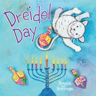Plastic Dreidel - Dreidel Day (Board Book)
