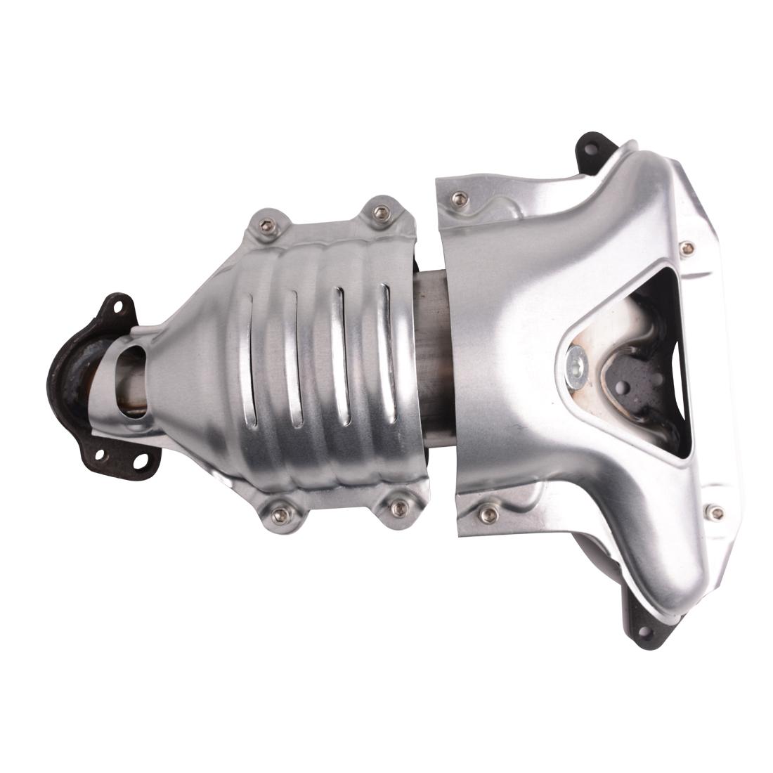 Catalytic Converter 1 7l Exhaust Manifold 673 608 674 For Honda Civic 01 05 Dx Lx Cx L4 Sohc Reph960325