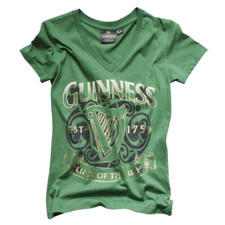 Guinness Ladies Tee (Guinness Ladies Luck of the Irish)