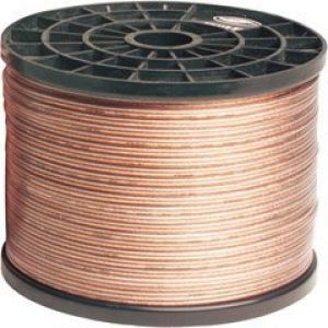 Metra 12GA 250-Feet Speaker Wire, Clear