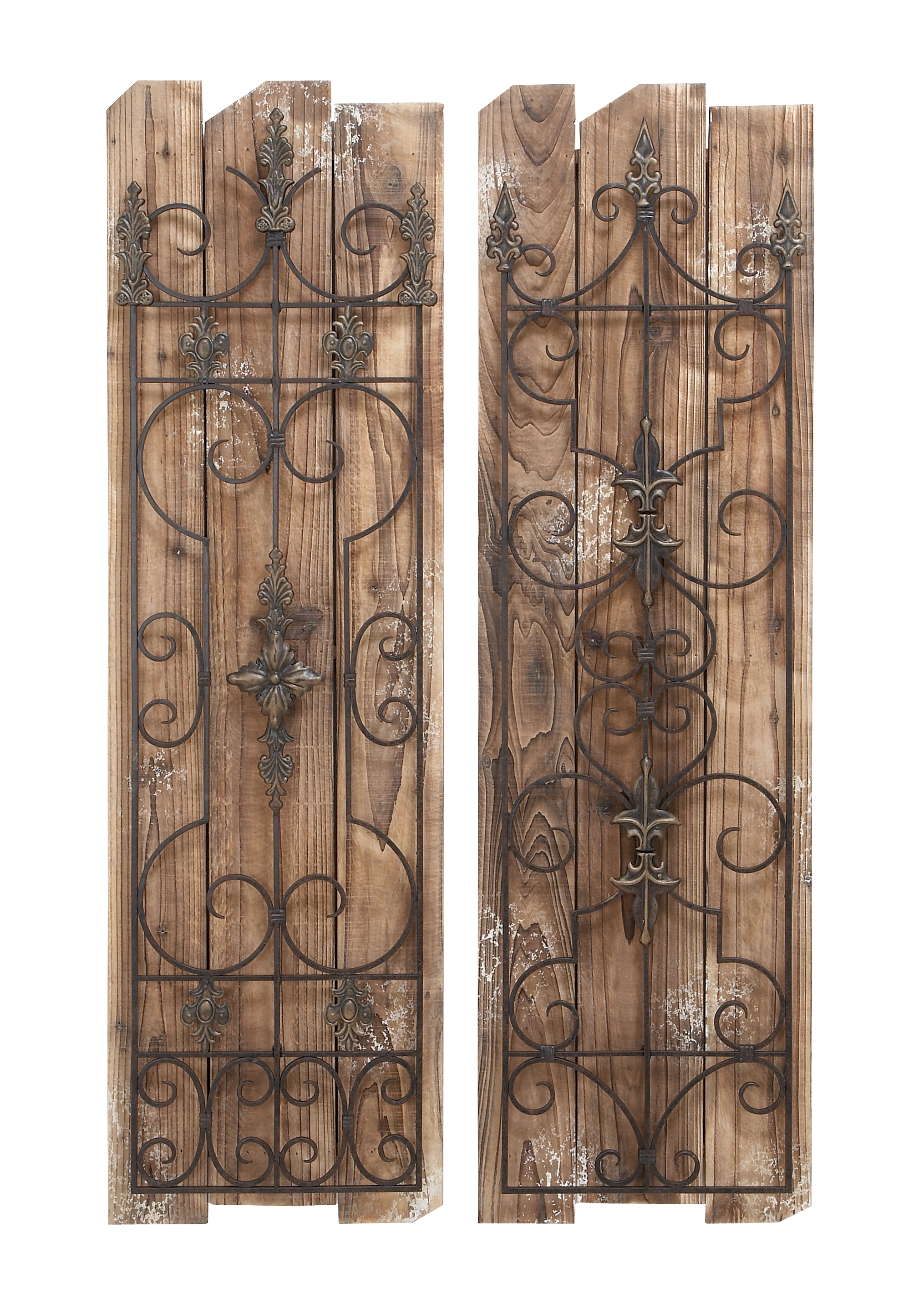 Enchanting Wooded Gate Wall Plaque by Benzara