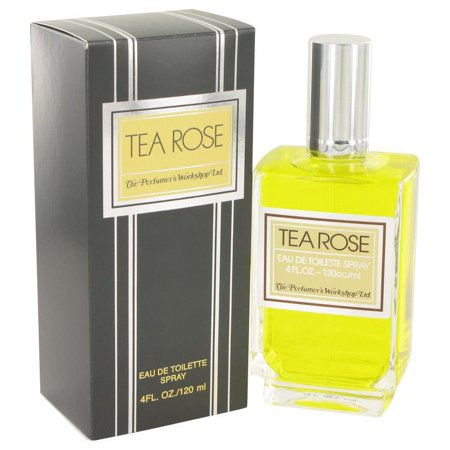 TEA ROSE by Perfumers Workshop Eau De Toilette Spray 4 oz ()