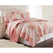 Shavel MFNQSTTWEPW Micro Flannel Twin Enchantment Patchwork Quilt Set