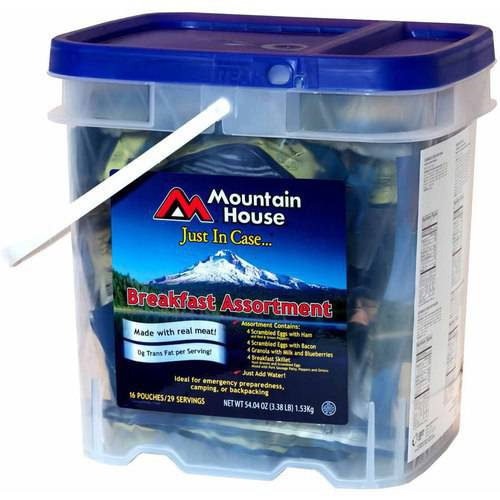 Mountain House Breakfast Bucket, 0080604 by Oregon Freeze Dry