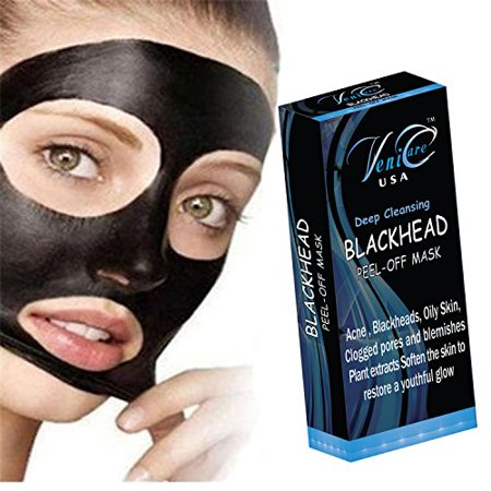 Venicare Blackhead Acne Remover Peel Mud Deep Cleaning Anti Aging Facial Mask   2 Pack