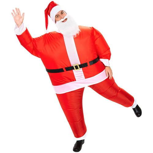 Santa Inflatable Adult Halloween Costume