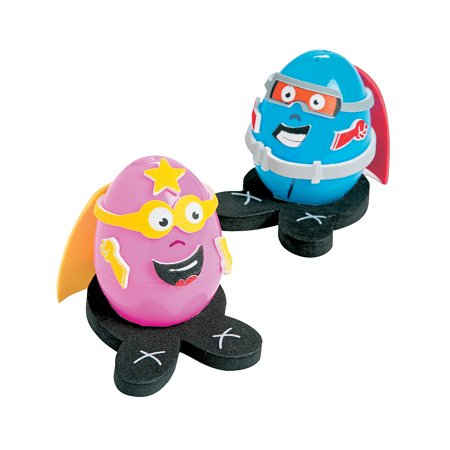 IN-13679724 Superhero Egg Decorating Craft Kit By Fun Express (Superhero Arts And Crafts)