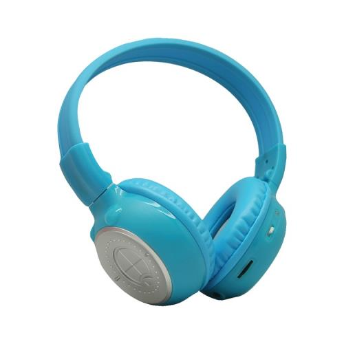 Power Acoustik Hp-K2b Dual-Channel Collapsible Ir Headphones (Blue)