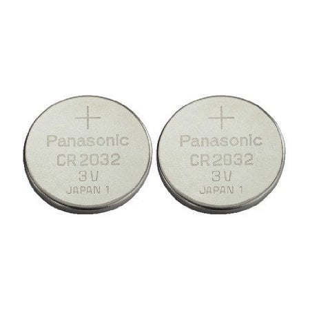 Cr2032 Battery (2 Pack) - Panasonic, Lithium Coin Cell,