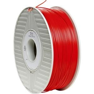 Verbatim ABS 3D Filament 1.75mm 1kg Reel - Red - Red