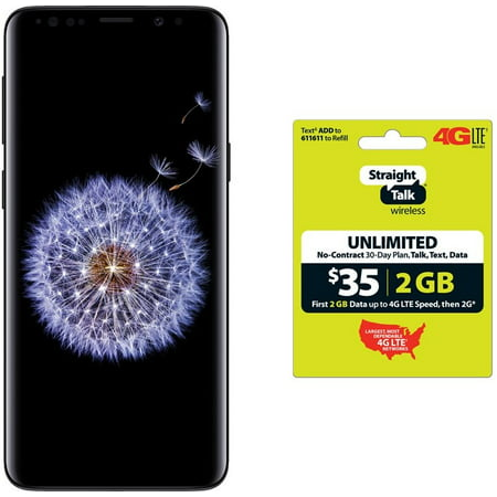 Straight Talk Samsung Galaxy S9 $100 off with (Best Off Brand Android Phone)