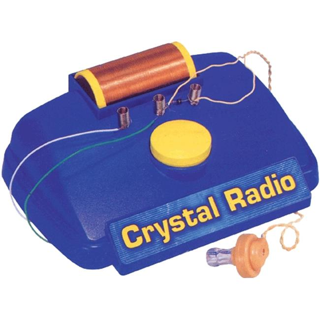 Crystal Radio Experiment Kit, Multi-Colored