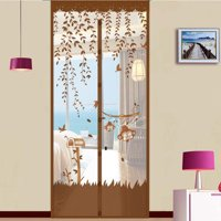 """Meigar Mesh Door Curtain Magnetic Insect Snap Fly Bug Anti Mosquito Screen Protector 5Colors 90x210cm/35.4x82.7"""""""