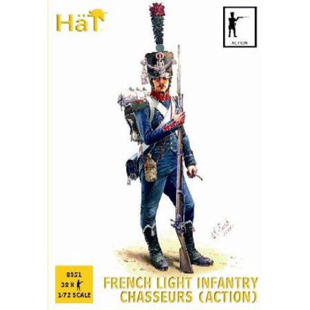 1/72 Napoleonic French Light Infantry Chasseurs Action (32)