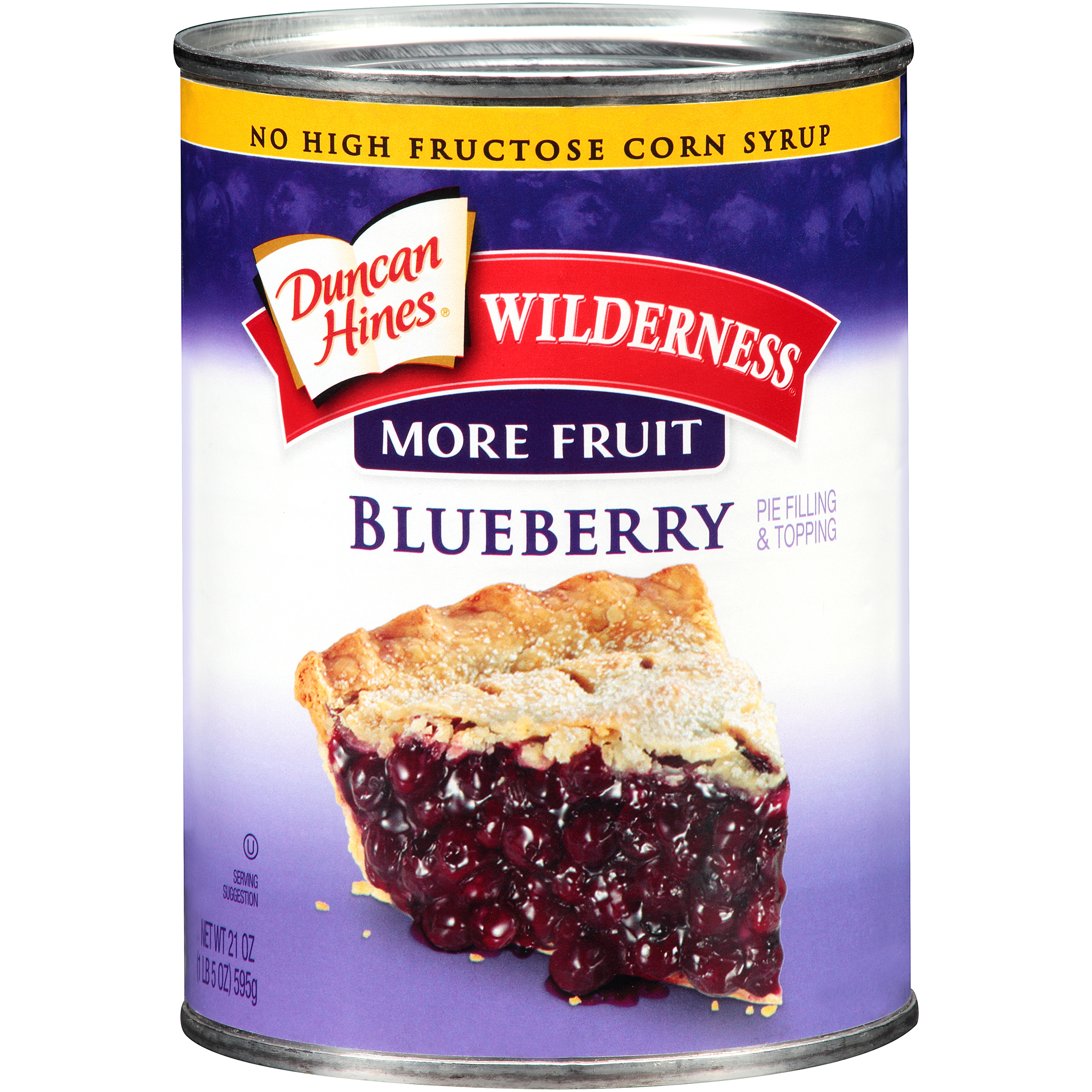 Duncan Hines�� Wilderness�� More Fruit Blueberry Pie Filling & Topping 21 oz. Can