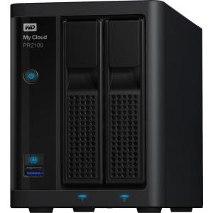 WD 8TB My Cloud PR2100 Pro Series Media Server with Transcoding, NAS Network Attached Storage Intel Pentium N3710... by WESTERN DIGITAL - CONTENT SOLUTIONS