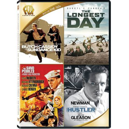 Best Of The '60s: Butch Cassidy And The Sundance Kid / The Longest Day / The Sand Pebbles / The (Best App Deals Of The Day)