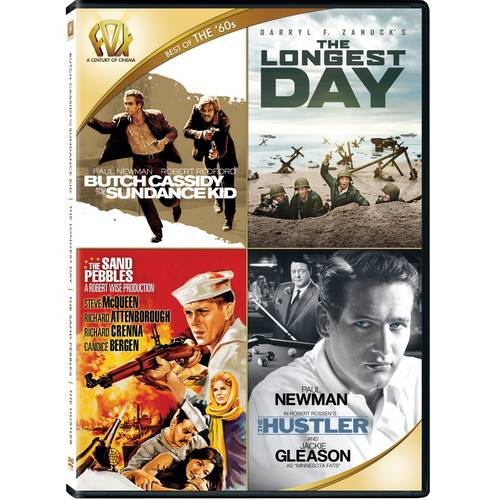 Best Of The '60s: Butch Cassidy And The Sundance Kid / The Longest Day / The Sand Pebbles / The Hustler
