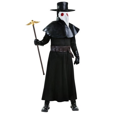 Doctor Costume Men (Adult Plague Doctor Costume)