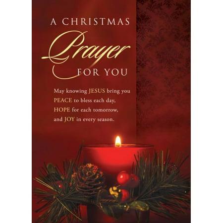 Card-Boxed-Christmas Prayer (Luke 2:10 KJV) (Box Of 12)
