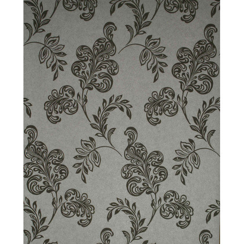 Brewster Home Fashions Verve Jacobean 33' x 20.5'' Floral 3D Embossed Wallpaper