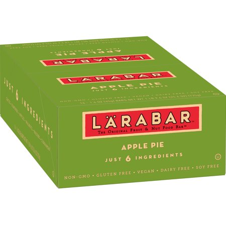 Larabar Apple Pie - Larabar Gluten Free Apple Pie Fruit & Nut Bars, 16 ct