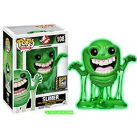 sdcc 2014 exclusive ghostbusters glow in the dark slimer pop! vinyl figure