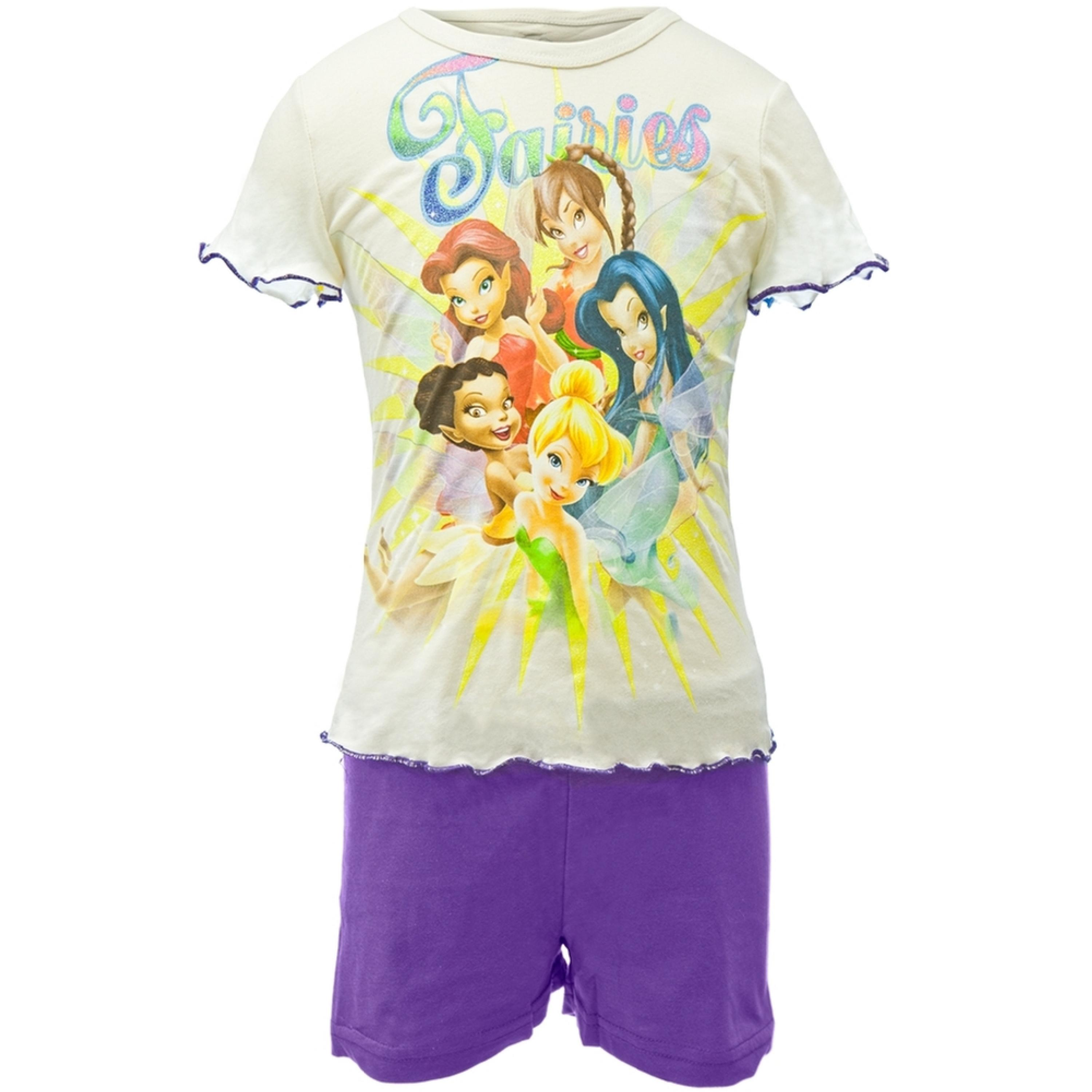 Disney Fairies -  Sunburst Group Girls Juvy Shirt/Shorts Set