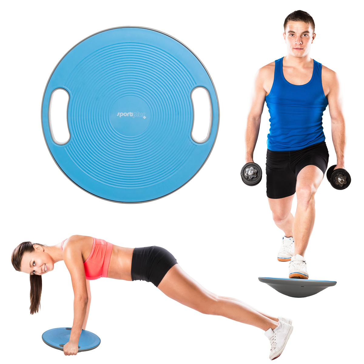 Yes4All Wobble Balance Board Exercise Balance Stability Trainer for Physica...