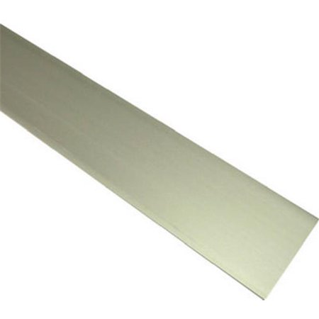 11290 0.12 x 0.75 x 72 in. Flat Aluminium (0.75 Bar Stock)