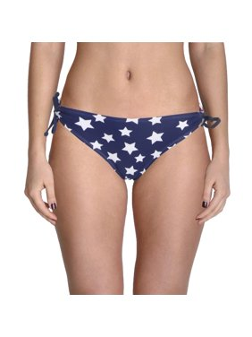 761bc2d3b9 Product Image In Mocean Womens Juniors American Flag Side Tie Hipster Swim  Bottom Separates