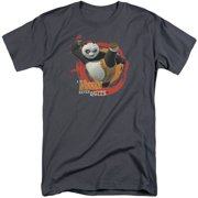 Kung Fu Panda Real Warrior Mens Big and Tall Shirt