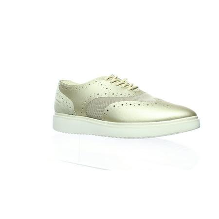Geox Womens Gold Fashion Sneaker Size