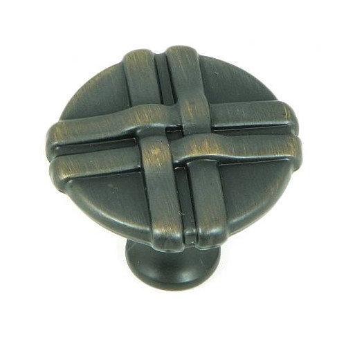 Stone Mill Hardware Weave 1.38'' Mushroom Knob