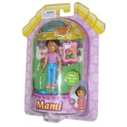 Dora The Explorer Magical Welcome House Poseable Mami Toy Figure Doll