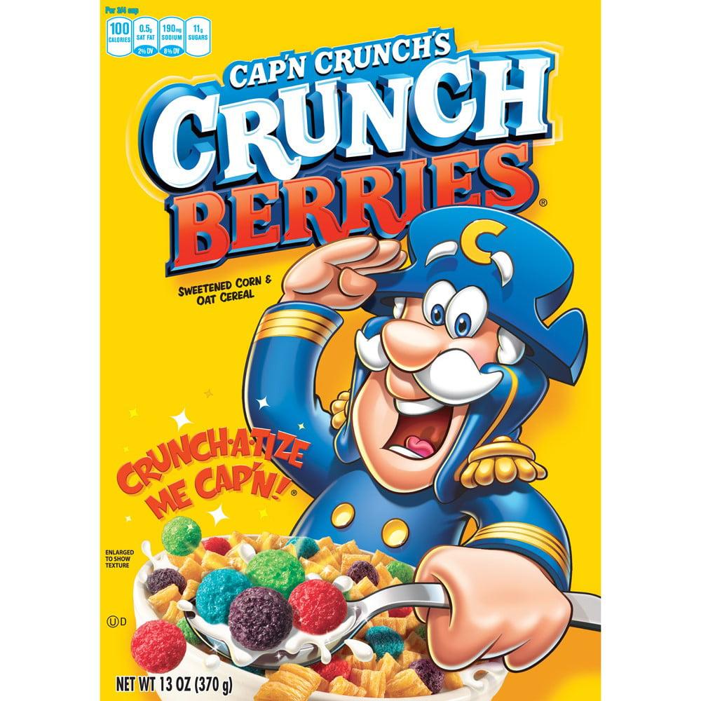 Cap'n Crunch Crunch Berries Breakfast Cereal, 13 Oz