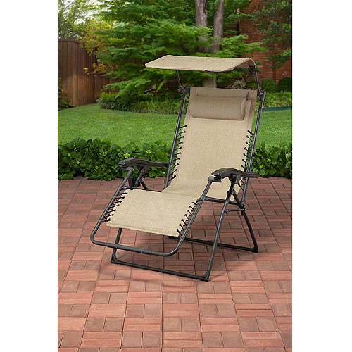 Big And Tall Outdoor Sling Bungee Lounger, Tan Part 11