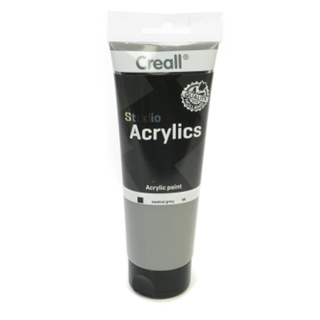 American Educational Products A-33698 Creall-Studio-Acrylics Tube 250Ml 98 Neutral Grey - image 1 of 1