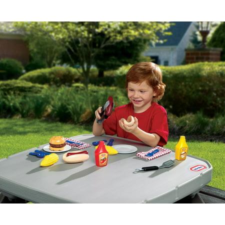 Little Tikes Backyard Barbeque Grillin' Goodies | Walmart ...