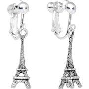 Parisian Belle Dangle Clip On Earrings